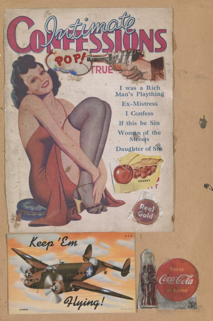 Sir Eduardo Paolozzi , I was a Rich Man's Plaything (1947)