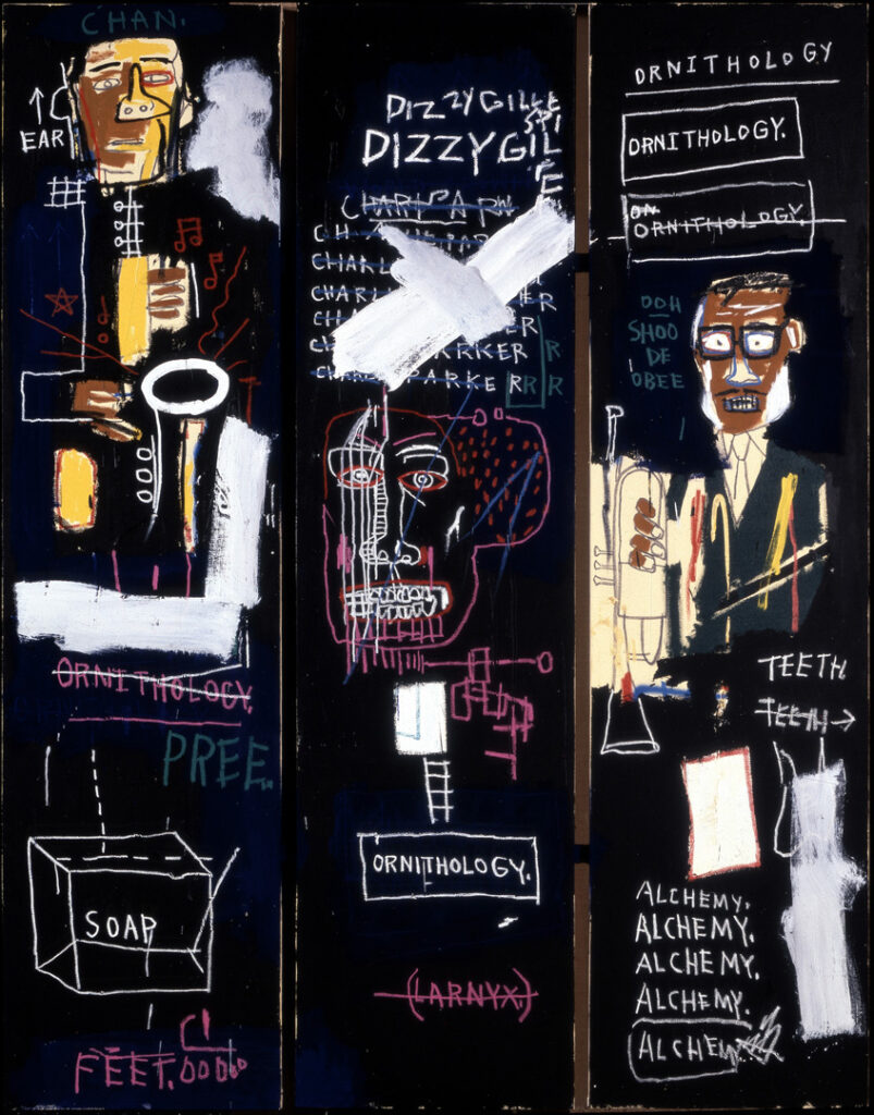 Jean-Michel Basquiat, Horn Players (1983)