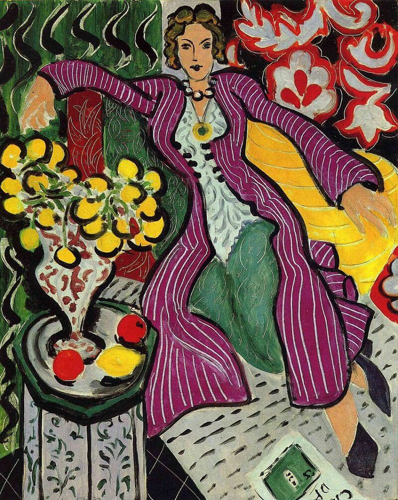 Henri Matisse, Woman in a Purple Coat (1937)