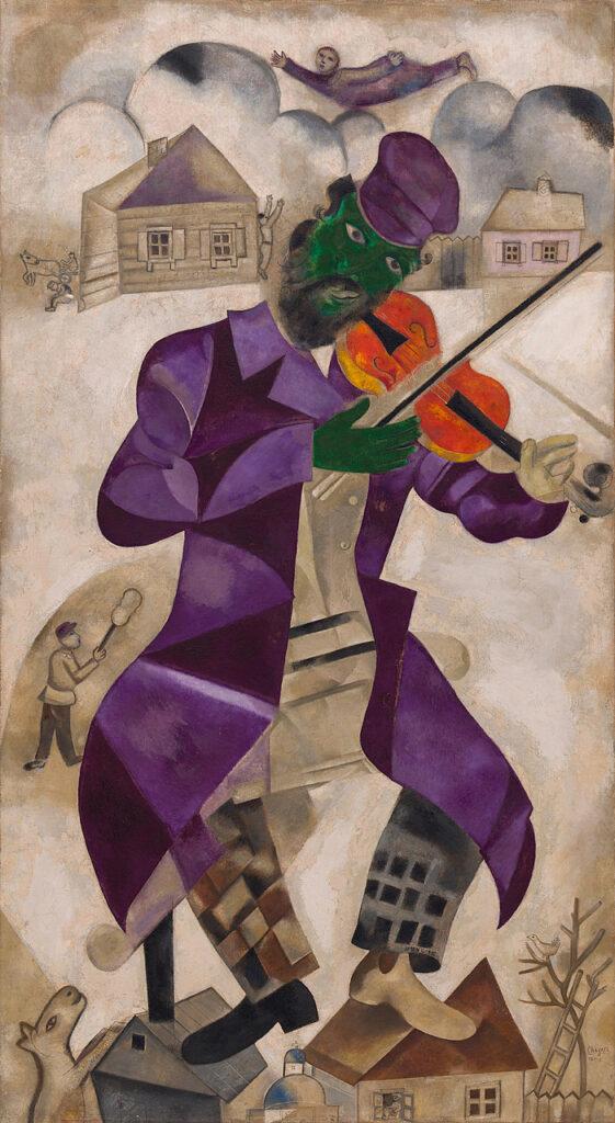 Marc Chagall, Green Violinist (1924)