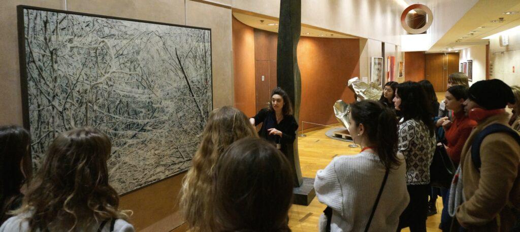 Singulart visits the collection of the Société Générale