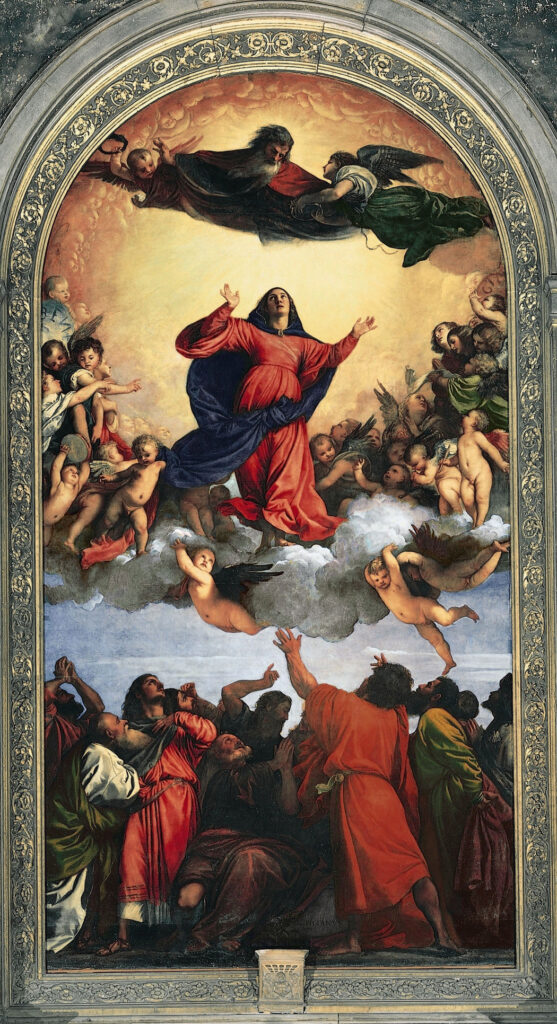 Titian, The Assumption of the Virgin (1518)