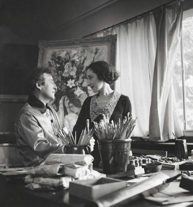 Bella and Marc Chagall in Paris, 1938