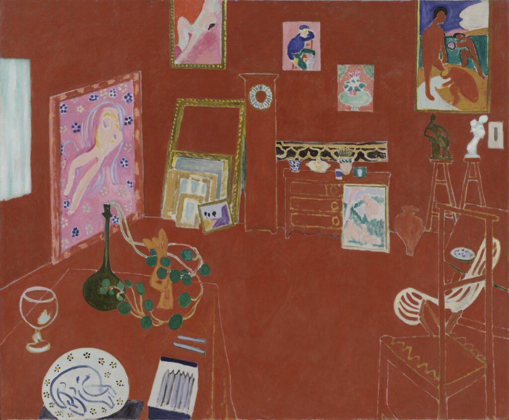 Henri Matisse, The Red Studio (1911)