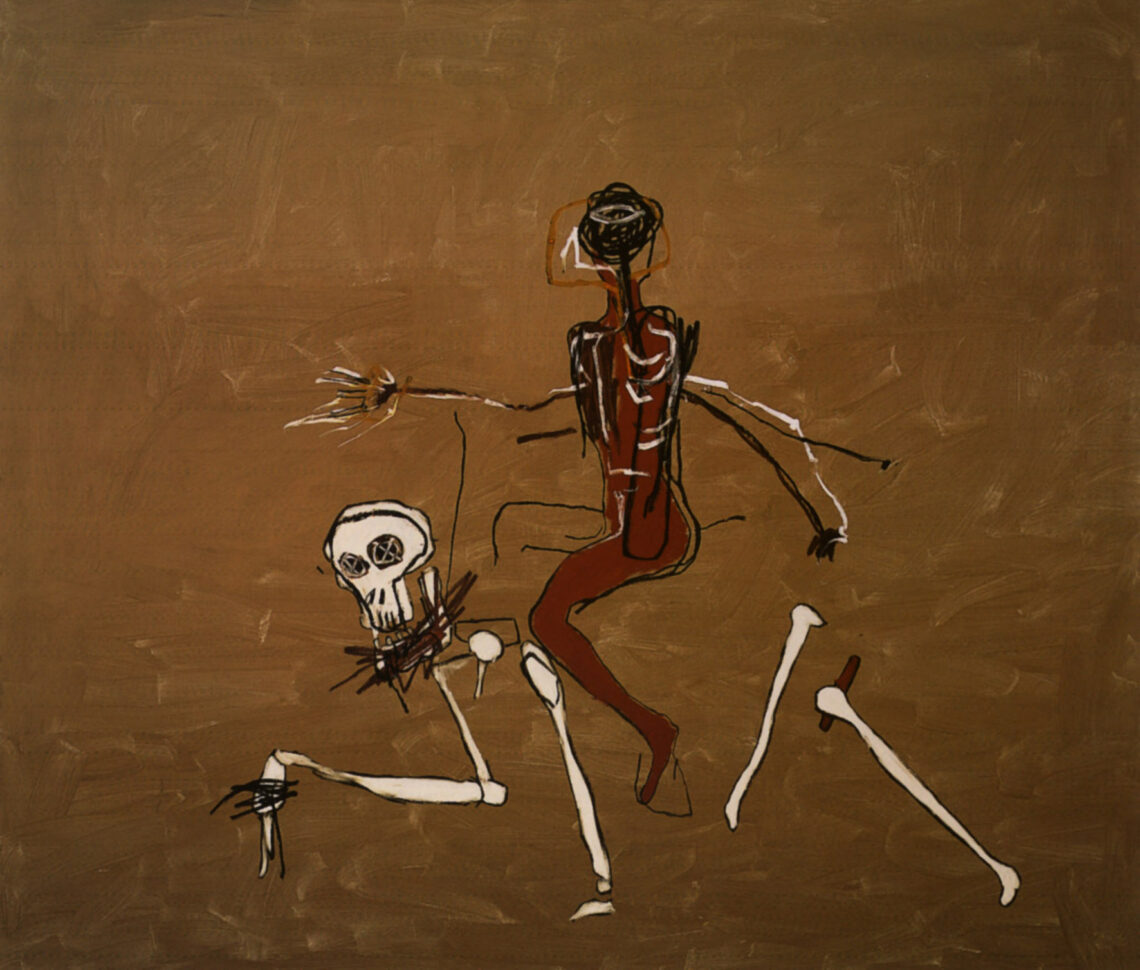 Riding With Death 1988 One Of Jean Michel Basquiat S Last Paintings