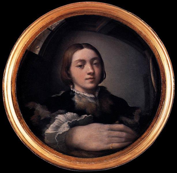 Parmigianino, Self-portrait in a Convex Mirror (1524)