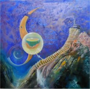 Sonda misteriosa, 2019, Franco Bulfarini