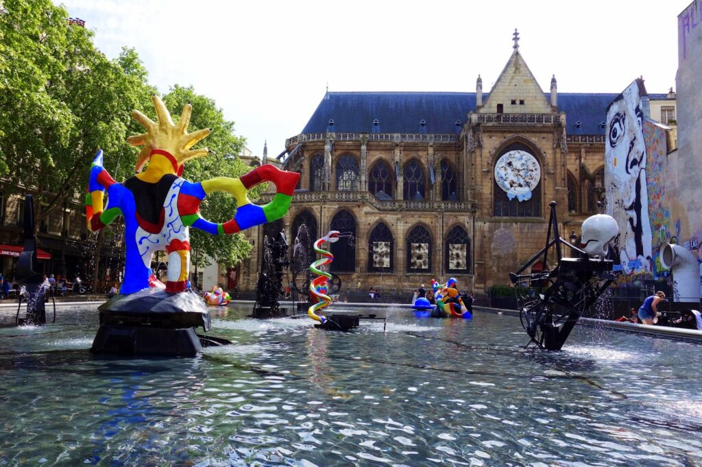 Niki de Saint Phalle - Stravinsky Fountain (1982), Paris, France