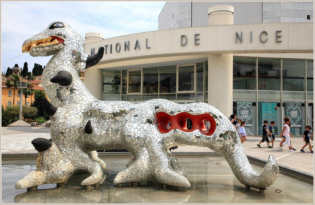 Niki de Saint Phalle - Loch Ness Monster (1992) - MAMAC, Nice, France