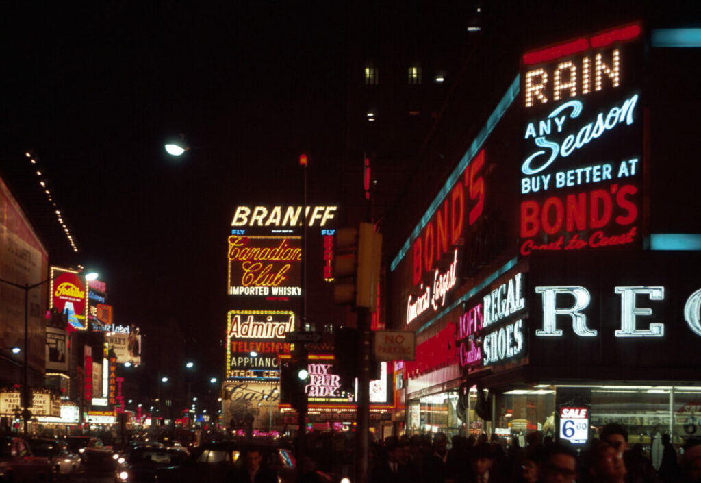Times Square 1965