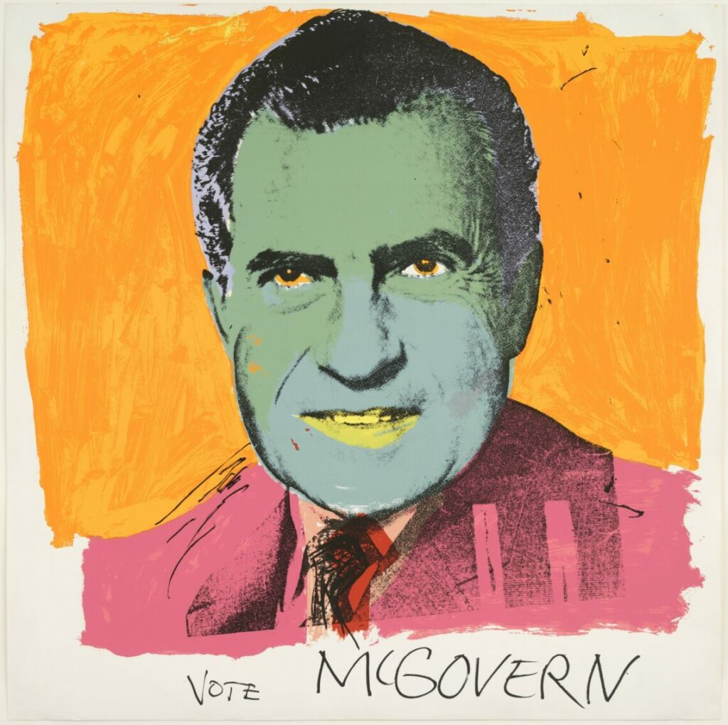 Warhol, Vote McGovern