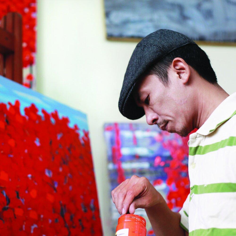 Vietnamese artists Nguyen Xuan Khanh