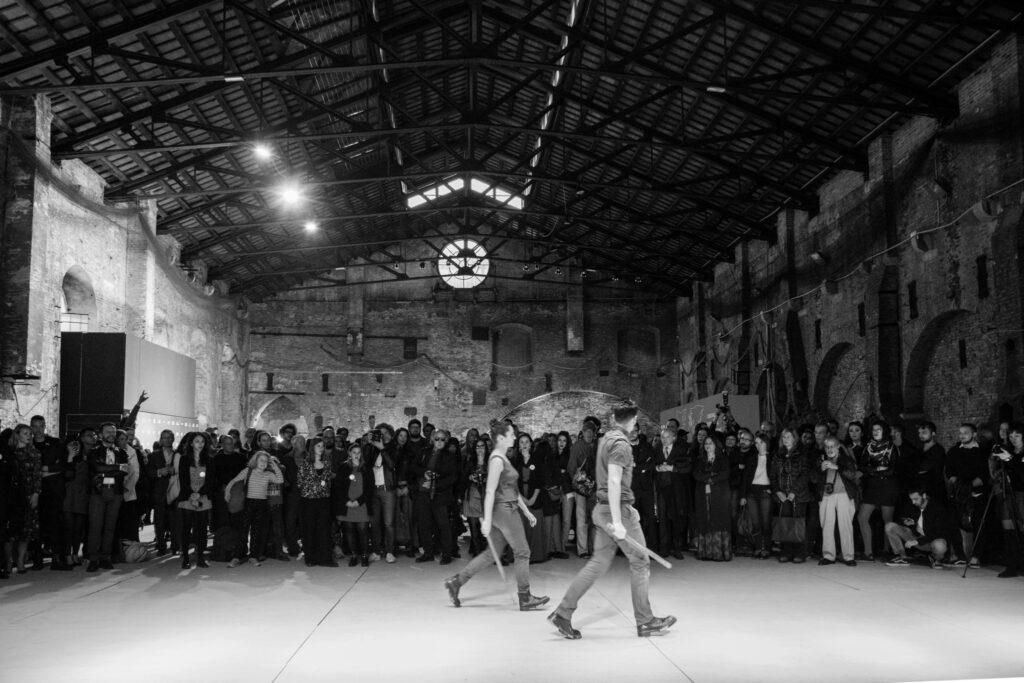 Mostra dei finalisti all'Arsenale di Venezia (2019), Maila Bertoli