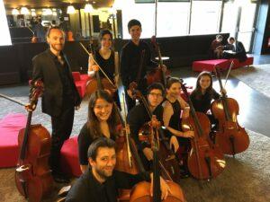 En concert avec l'orchestre COGE