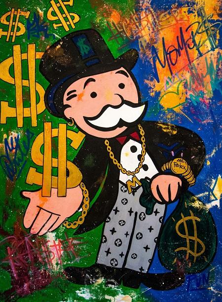 Mr. Monopoly Rules (2019), Carlos Pun