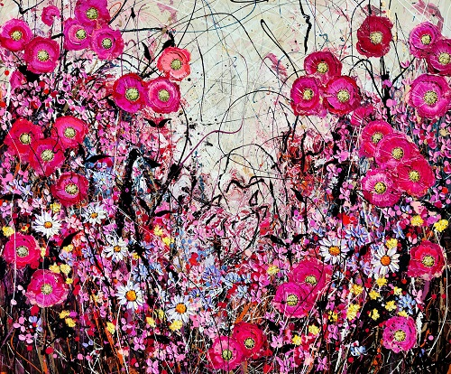 Candy Pink Summer Rose (2021), Angie Wright