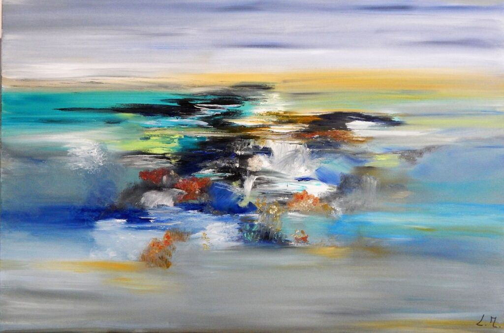 Des couleurs à l'infini (2021), Lydie Massou